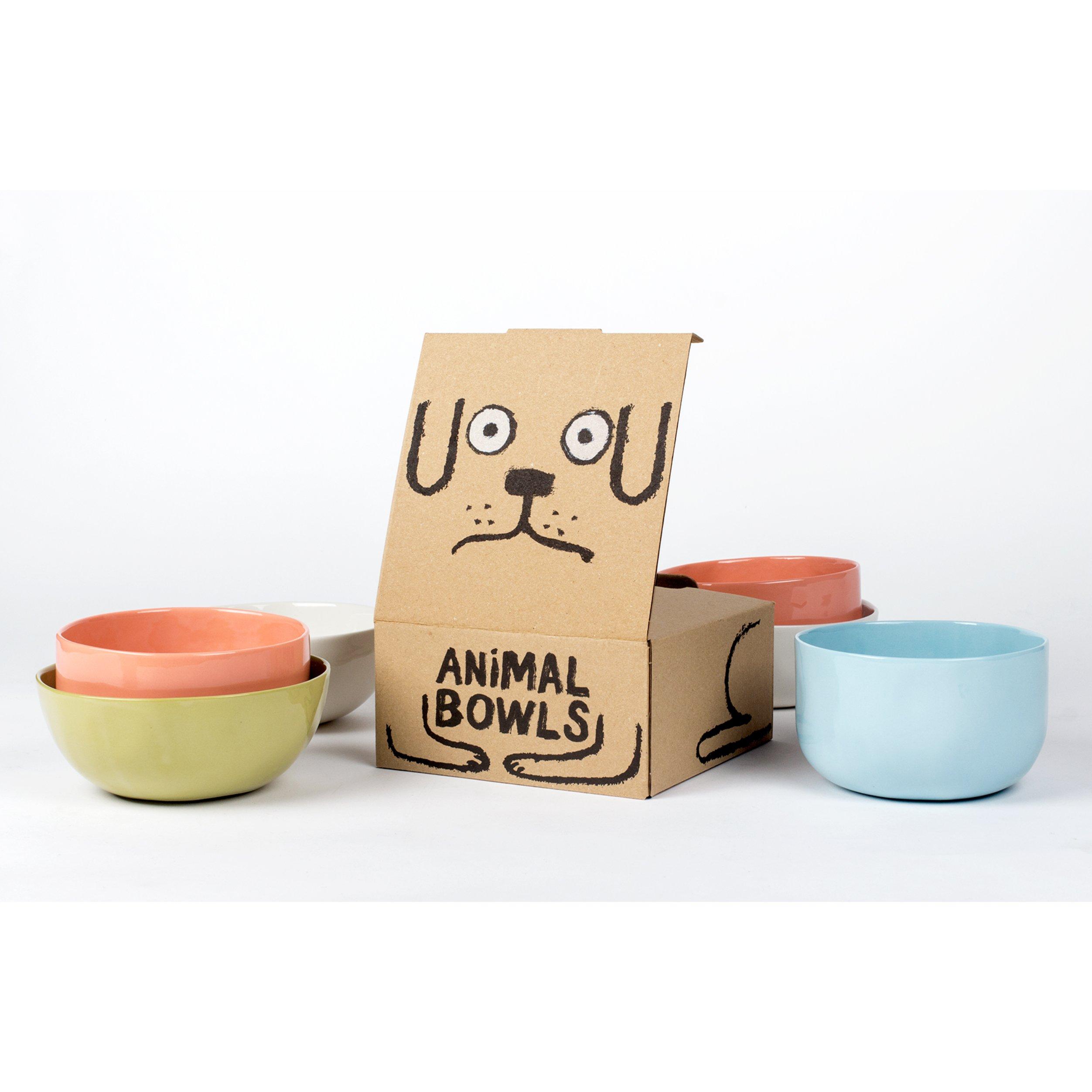 像貓咪一般優雅的吃吧。 來自JEAN JULLIEN X CASE STUDYO的創作: ANIMAL BOWLS